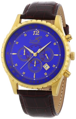 Ingraham Men's Quartz Watch Athens IG ATHE.1.600205D with Leather Strap