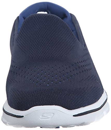 Skechers Performance Womens Go Walk 3 Dominate Walking Shoe, Navy/Blue, 10 M US Navy/Blue