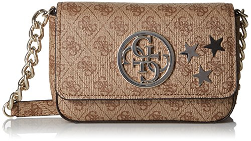 guess-g-lux-petite-crossbody-flap-brown