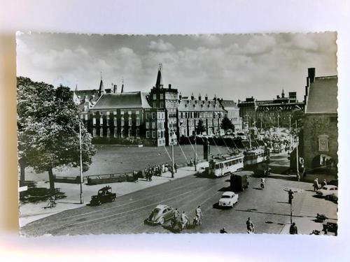 1 Postkarte: Den Haag, Plaats en Hofvijver