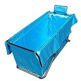 KLWJ Folding wanne, Bad wanne,Keine notwendigkeit zum aufblasen Dick Wärme Wärme Erwachsenen Badewanne, Kinderbadewanne-E 105x52x56cm(41x20x22inch)