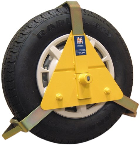Stronghold 5434B Wheel Clamp 10 x 14 -inch