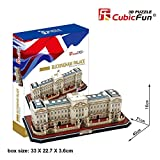 Cubic Fun 3D Jigsaw Puzzle Model Toy Building - Buckingham Palace London England