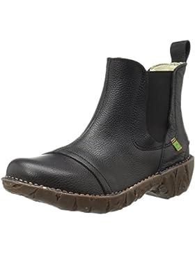 El Naturalista Damen N158 Soft Grain Black / Yggdrasil Chelsea Boots