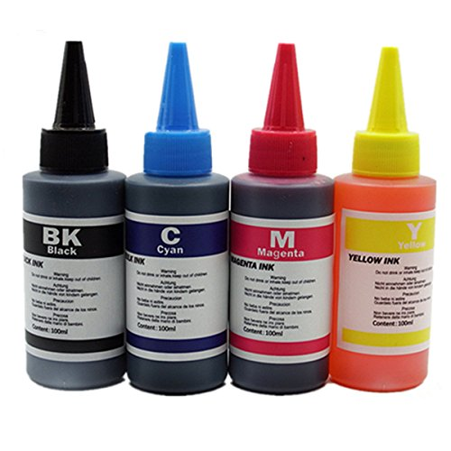 Bulk-inkjet-refill - (No-Name 4 PCS/Lot One Set Universal Refill Bulk Kit für HP Tinte für Canon für Lexmark für Dell für Epson für Brother Alle Inkjet Drucker)