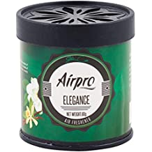 Airpro - Luxury Tin Can Gel Air Freshener Perfume Purifier- Elegance - for car, Home, Office, Cabin and Other Small Enclosed Areas