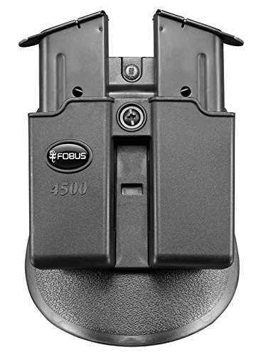 Fobus Doppel magazintasche Paddle Mag Pouch für Single-Stack .45 Cal Magazines -