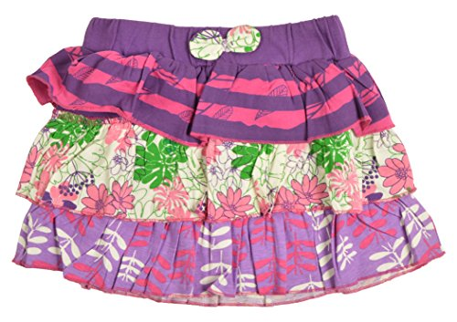ARAN Girls' Frills Skirt (ARANKS10040--5-6 Years, Purple, 5-6 Years)  available at amazon for Rs.189