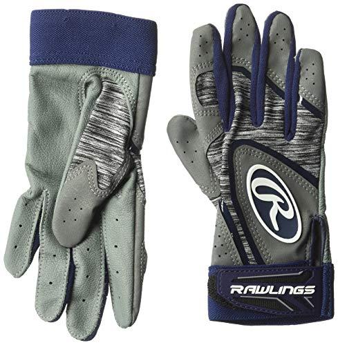 Rawlings Unisex 5150gbg-n-905150Baseball Batting Handschuhe groß, Marineblau, Erwachsene L - Handschuhe Rawlings