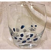 El Ángulo Barletta Pierre Cardin Juego de 6 Vasos de Agua fantasía Azul Gris diseño de