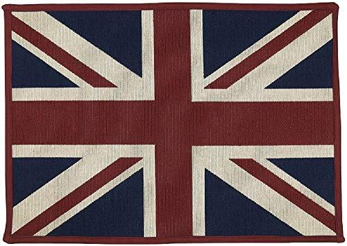 Vintage House Fußmatte/Fußmatte, Motiv England Britische Flagge, 48,3 x 68,6 cm -