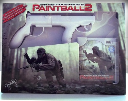 GREG HASTINGS PAINTBALL 2 + GUN NINTENDO WII