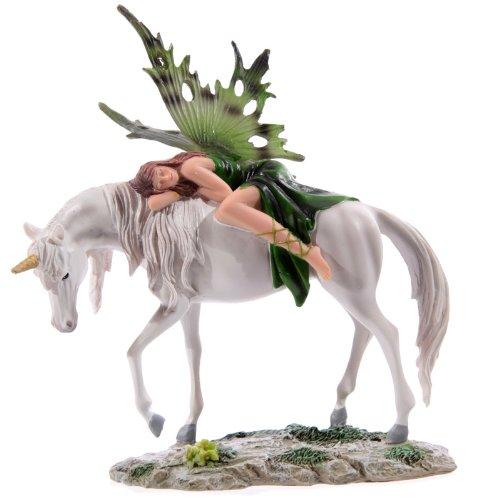 Bosque de Hadas Esmeralda Dormir en pie Unicornio