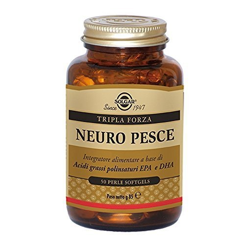 Solgar Neuro Pesce Integratore Alimentare 50 Perle