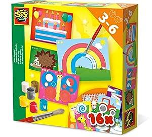 SES Creative Aprendo a Pintar - Kits de Manualidades para niños (Kids