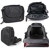 Sacoche 2 en 1 & support intégré d'appui-tête voiture pour lecteurs DVD portables Takara VR122W, DIV 109 & 107 R - fermeture éclair