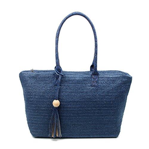 OBC Only-Beautiful-Couture, Borsa a spalla donna blu Dunkelblau ca.: 50x27x17 cm (BxHxT) Dunkelblau