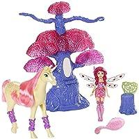 Mia and me - Mia y yo - Juego Conjunto Árbol mágico - muñeca Mia y unicornio - Mattel CJL54