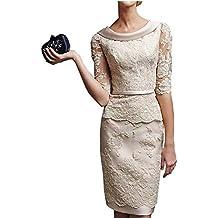 Vestido Corto graduación Veiai elegante madre de la novia vestidos para bodas Reino Unido talles grandes