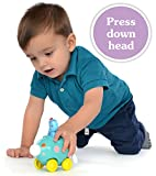 NEW! In the Night Garden Iggle Piggle Pinky Ponk Press Go Vehicle Toy