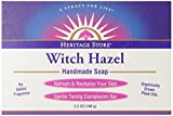 Heritage Store Bath Soap, Witch Hazel, 3...