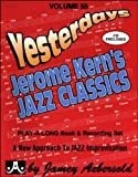 AEBERSOLD 55 CD JEROME KERN'S JAZZ CLASSICS (BROCHE+CD)
