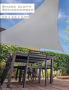 Schaduwdoek 4 X 6.Awning Sun Screen Triangular Sail Triangular 360 X 360 X 360 Inches
