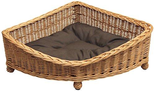 Prestige Wicker Willow Pet Corner Basket, Small
