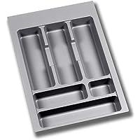 Emuca - Range couvert ajustable, bac couverts pour tiroir largeur de module 40cm