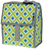 Best PackIt Lunch Boxes - PackIt Freezable Lunch Bag with Zip Closure, Geometric Review