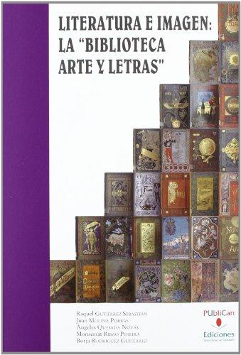 """Literatura e imagen: la """"Biblioteca Arte y Letras"""" (Analectas)"""