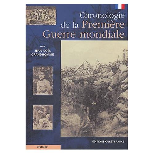 Chronologie de la Première Guerre mondiale