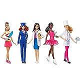 Karriere-Barbie-Puppen, 5Stück, Weihnachtsgeschenk