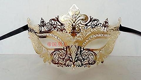 Bal Costumé Décorations - Une Princesse, Un Demi-Masque De Visage; Une