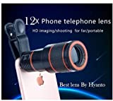 #6: 12X HD Zoom Mobile Phone Telescope Lens with Adjustable Clip Mobile Phone Lens with Adjustable Clip Holder