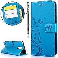LG Stylo 3 Hülle,LG Stylus 3 Hülle,LG Stylus 3/LG Stylo 3/LG LS777 Ledertasche Handyhülle Brieftasche im BookStyle... preisvergleich bei billige-tabletten.eu