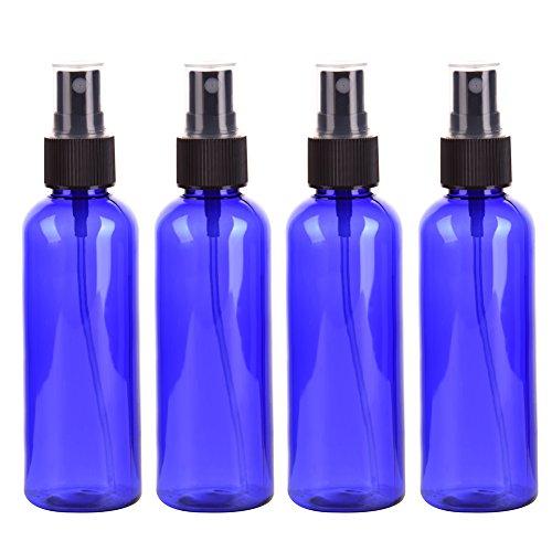 4Spray Flasche, Reisen Flasche Set, 100ml Spray Flasche feines Spray Kunststoff bottle- Form, ungiftig und keine Umweltverschmutzung, tragen jederzeit