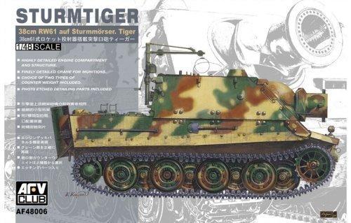 AFV-Club 48006 Tiger I Early Type, Fahrzeuge