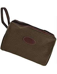 Mens Classic TRAVEL Faux Suede WASHBAG with Carry Handle by Danielle   Berkely Collection Toiletries ddb21b476c2ab