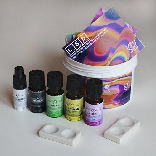 LSD SIN Test Kit (Hofmann, Marquis, Mecke + Ehrlich Reagenz) (10ml)