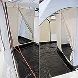 10T Carson - Frei stehendes Van / Bus-Vorzelt Tunnelzelt mit 2-Personen Schlafkabine und Bodenplane WS=5000mm -