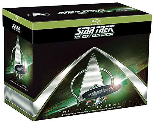 Star Trek: The Next Generation - Staffel 1-7 (41 Blu-Ray) Import mit Deutschem Ton (Star Trek Staffel 5)