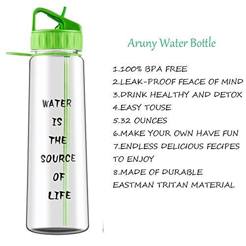 Zoom IMG-1 aruny bottiglia d acqua 900
