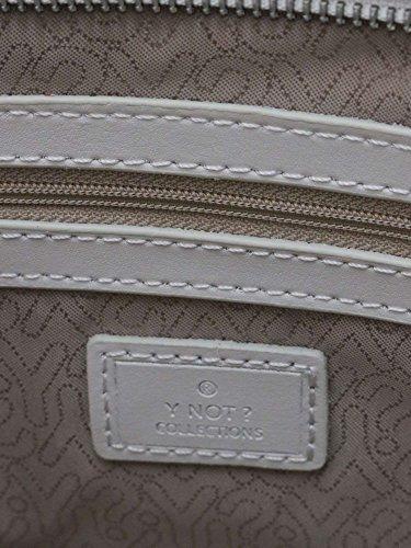 Ynot Y-007 Sacchetto Medio Accessorio Bianco