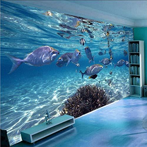 Dalxsh 3D Wallpaper CartoonMundo Submarino Vida