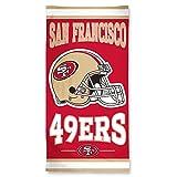 NFL Strandtuch 150x75 cm San Francisco 49ers