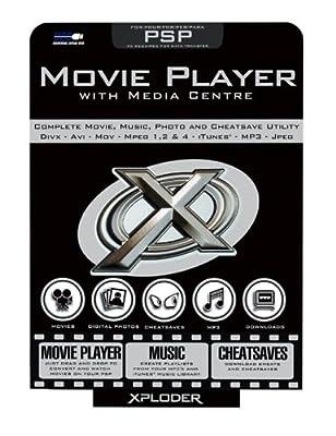 Fire International Xploder Movie Player and Media Centre (PSP)