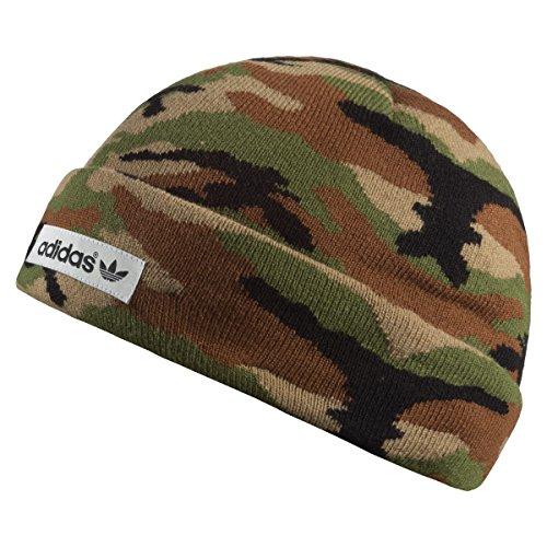 548652b0 Adidas Bonnet Camouflage Logo, Hemp/Pantone/Black, osfh, ab2943