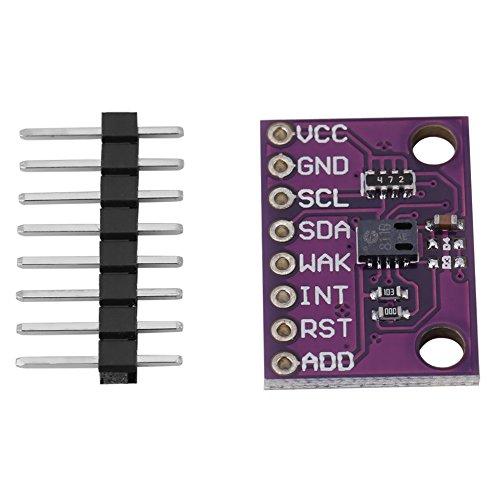Zunate Gassensor Luftqualitätssensor,Kompakter empfindlicher Kohlenmonoxid CO VOCs Luftqualitäts-Gassensor-Monitor CJMCU-811 CCS811 Überwachung digitaler Gassensoren für den Innenbereich -