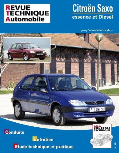 Revue Technique 106.1 Citroën Saxo Essence et Diesel (96->F.Fab)